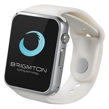 "Brigmton BT4 SmartWatch BT3.0 mSim 1.54"" Blanco"