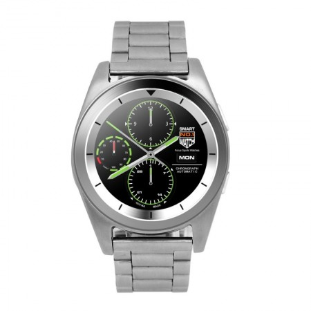 "Brigmton BT6 SmartWatch BT3.0 IPS 1.2"" Plata"