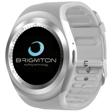 "Brigmton BT7 SmartWatch BT3.0 nSim IPS 1.3"" Blanco"