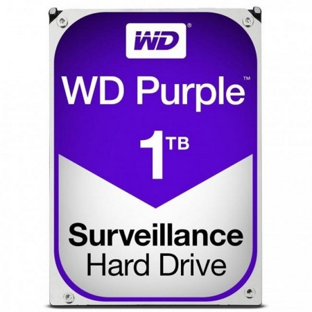 DISCO DURO WESTERN DIGITAL WD10PURZ 1TB SATA3 64MB PURPLE