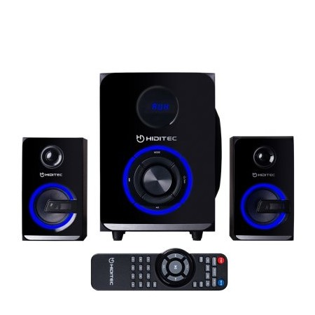 Hiditec Altavoz 2.1 H500 100w Bluetooth SD Negro